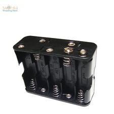 Portapilas 10xmignon Total 12V Ideal para Led,Compartimento de las Pilas Aa