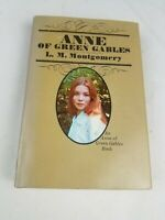 Vtg ANNE OF GREEN GABLES L. M. Montgomery Grosset Dunlap Book 1970 Edition 1973