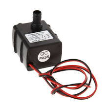 12V 3m 240L/H Ultra Quiet Brushless Motor Submersible Pool Water Pump Solar EN#