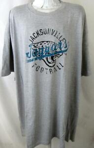 """Jacksonville Jaguars Big Men 5X-Large """"JACKSONVILLE FOOTBALL"""" T-shirt AJJS 179"""