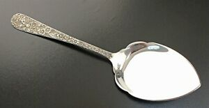 Kirk & Son ALL Sterling Handled REPOUSSE Pie Server