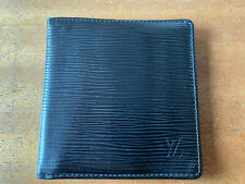 Authentic Louis Vuitton black Epi leather wallet