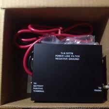 New MOTOROLA DC Power Filter TLN5277B Radio Line NOISE INTERFERENCE KIT Mobile