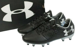 Under Armour Youth Magnetico Select Firm Ground Jr Soccer Cleats Shoes Black
