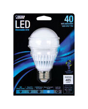 NEW! FEIT LED Bulb 7.5 Watts / 40 Watts A-Line A19 Daylight BPAGOM450/5KLED