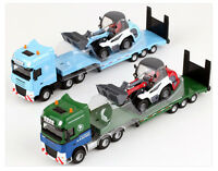 NEW Diecast Truck Low Loader & Compact Loader Model Construction Set 1:50 scale