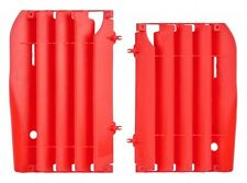 RADIATOR LOUVRES HONDA CRF250 10-13 RED OR WHITE RADIATOR COVERS