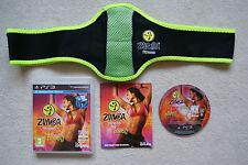 Zumba Fitness PS3 Juego + cinturón 1st CLASE GRATIS UK FRANQUEO