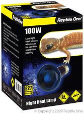 Reptile One Night Light Heat Lamp 100w