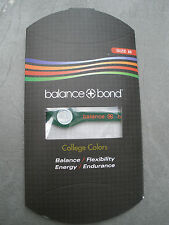 Balance + Bond Bracelet Band College Green Orange Silicone Ionic Small