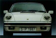 Porsche 911 Carrera ( 1984 ) . Super Sharp,High Quality Printed Car Poster