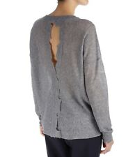 Rabens Saloner Fine Open Back Knit Grey XS BNWT