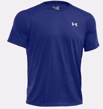 Camisetas de hombre de manga corta azul Under armour