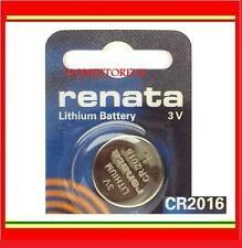 Renata CR2016 Single Use Batteries