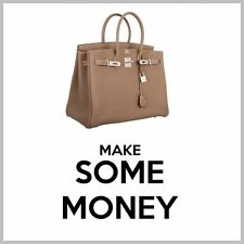 """LUXURY HANDBAGS Website Business Upto £263.00 A SALE. """"9000 Visitors a Month"""""""
