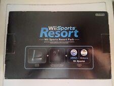 console wii sport resort pack + accessori