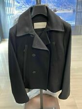 Calvin Klein Jeans Iconic Retro Wolle Kurz Mantel Blazer Coat Jacke Jacket M 38