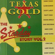 STARDAY RECORDS STORY CD Texas Gold Volume 2 CD NEW 1950s Rockabilly Hillbilly