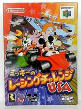 Mickey's Racing Challenge USA  (Mickey's Speedway USA) Nintendo 64 japanese