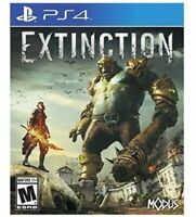 Extinction Sony PlayStation 4    BRAND NEW.    FREE SHIPPING   PS4
