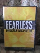 FEARLESS COURAGEOUS LIVING BY JOEL OSTEEN DVD/CD SERIES NEW & SEALED