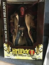 NEW IN BOX RARE Hellboy 2 The Golden Army 18 Inch Figure Closed Mouth
