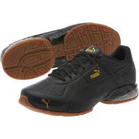 NWT Men's Puma Cell Surin 2 Premium Running Shoes  189969_02 Black Gold Tazon
