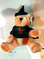 Hard Rock Cafe Maui Halloween 2002 Collectible Witch Bear Herrington w/ Tags