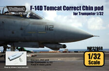 Wolfpack WP32068, F-14D Tomcat Correct Chin pod set (for Trumepter) , SCALE 1/32