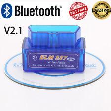 Car Bluetooth Obd2 Obdii Elm 327 Scanner Code Reader Automotive Diagnostic Tool