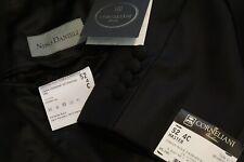 Corneliani Master Black 2 PC Tuxedo Jacket Pants Peak 1 Button Sz 42S NEW W TAGS