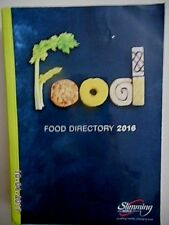 SLIMMING WORLD FOOD DIRECTORY 2016 39,500 BASIC & BRANDED PRODUCTS -EX CONDITION