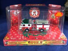 M-60 CODE 3 1:64 SCALE DIE CAST FIRE ENGINE - 1999 CHRISTMAS EDITION #2 TRUCK 99