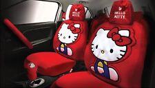 Hello Kitty Original Auto Zubehörset 10 Teile ( I'M Babyschuhe Collection) Best