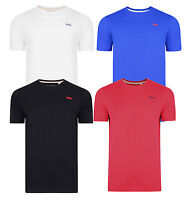 Lee Cooper Plain New Men's T-Shirts Cotton Jersey Tee Top Red Blue White Black