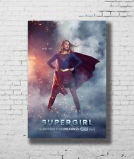 24x36 14x21 Poster Supergirl TV Series Season 3 Melissa Benoist Art Hot P-3518