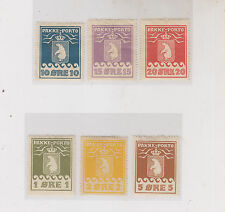 GREENLAND nice lot parcel stamps,hinged polar bears #