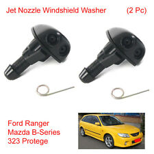 Pair Jet Nozzle Windshield Washer For Ford Ranger Mazda B-Series 323 Protege 98