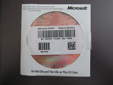 Genuine Microsoft Office Professional Pro 2007 Excel Access Powerpoint Publisher