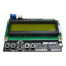 Yellow Backlight 1602 LCD Keypad Board Shield for Robot Arduino ATMEGA328 2560