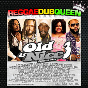 DJ Lass - Old & Nice Volume 3 Reggae Mix. Reggae Mix CD. 2020