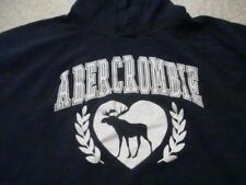 Abercrombie & Fitch kids bue glitter hoodie top 13 - 14 year children size