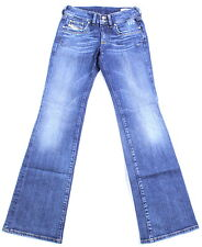 BNWT DIESEL RONHAR 8DW Jeans 26X30 Jeans Femme Coupe Standard Bootcut Finition