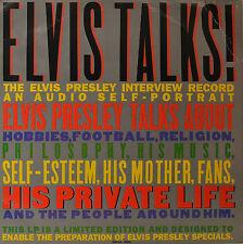 """Elvis Presley - Elvis Talks 12 """" LP (o8)"""