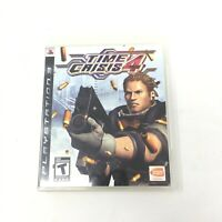 Time Crisis 4 PS3 Playstation 3 Video Game Bandai Namco Teen Tested Works