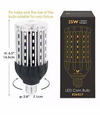 Wenscha E26 E27Led Corn Light Bulb, 3000K Warm White Light