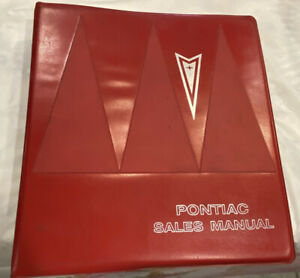 1966 Pontiac Sales Manual Dealer Album GTO Bonneville Grand Prix Catalina Good