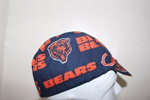 CYCLING CAP CHICAGO BEARS   HANDMADE IN USA   S M L