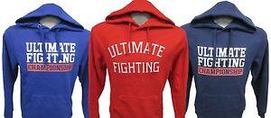 Ultimate Fighting Men's Red Sweatshirt UFC
