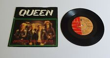 """Queen Crazy Little Thing Called Love 7"""" Single A2 B1U Pressing - VVG"""